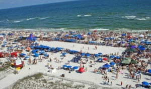 Annual Mullet Toss Draws Tens of Thousands to Alabama Gulf Coast