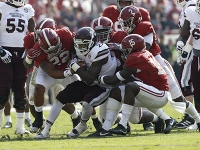 Hurts a major force on the ground and through the air as No. 1 Crimson Tide routs MSU (via Crimson Magazine)